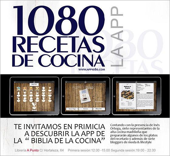 1080  Recetas App
